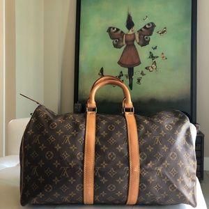 ✅SOLD✅ Authentic Louis Vuitton Keepall 45